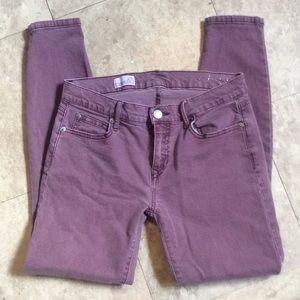 GAP purple leggings jeans